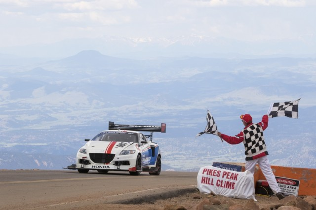 Four-motor Honda CR-Z, 2015 Pike's Peak International Hill Climb.