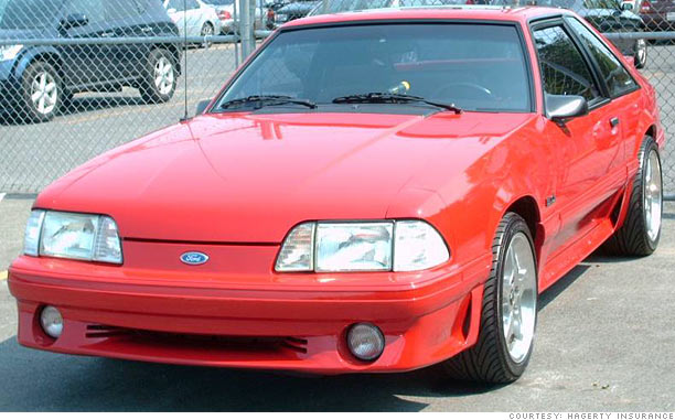 fox body mustang makes cnn money 39 s top ten investment cars under 5k. Black Bedroom Furniture Sets. Home Design Ideas