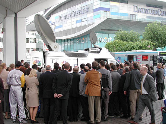 Frankfurt Auto Show 2001