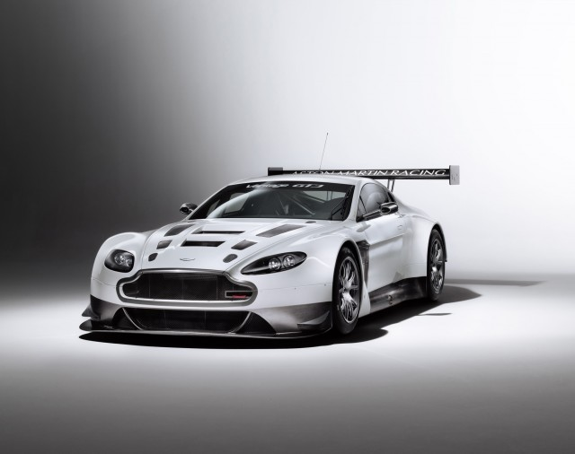 Front view of the new Aston Martin V12 Vantage GT3 racer - Aston Martin image
