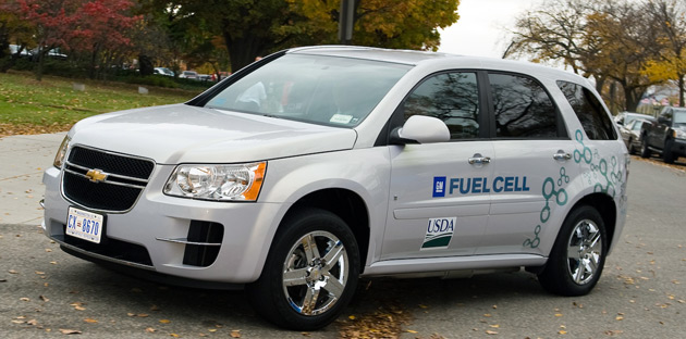 The ongoing field-testing of GM's hydrogen fuel-cell-powered fleet involves 3,400 people