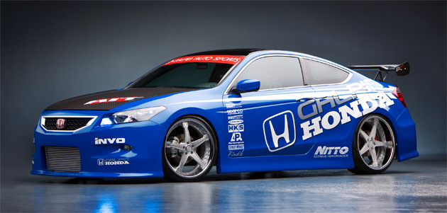 Honda teamed up with California's Galpin to build a special racing Accord Coupe concept