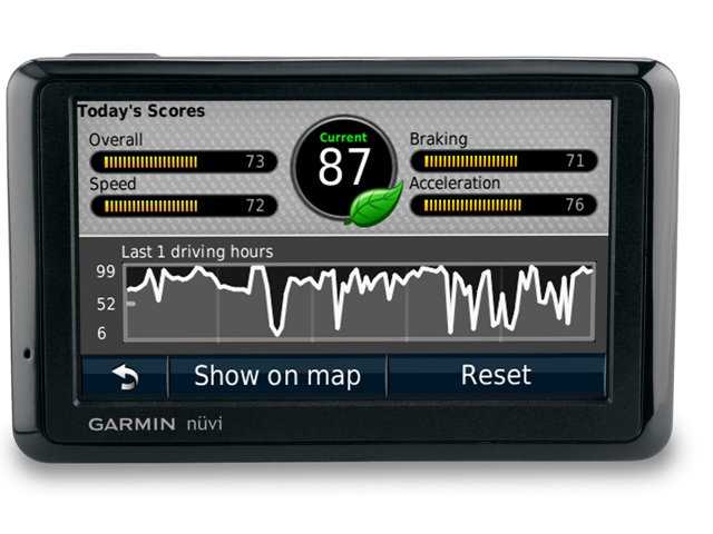 New From Garmin: Record Your Own Driving Instructions, Learn Green Driving