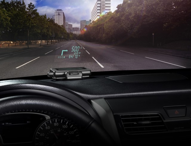 Garmin portable head-up display
