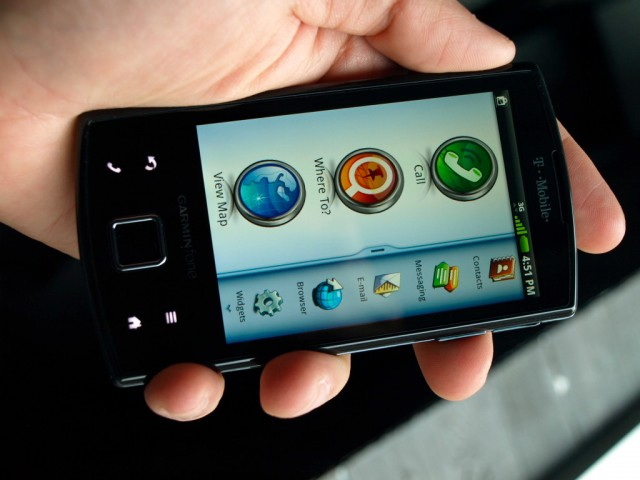 Garminfone from T-Mobile