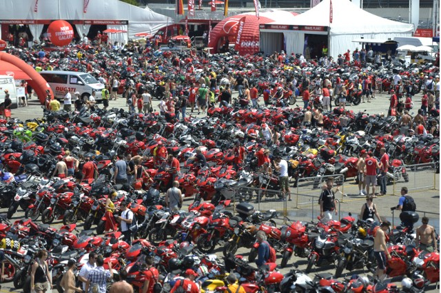 Gathering of the Ducati faithful - Ducati photo