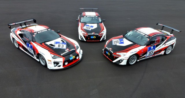 Gazoo Racing's Nürburgring 24 Hours entries