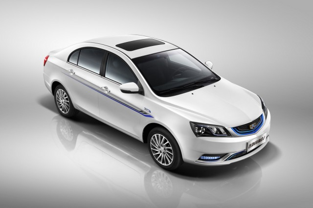 Geely Emgrand EV, Chinese electric car, driven by British ...