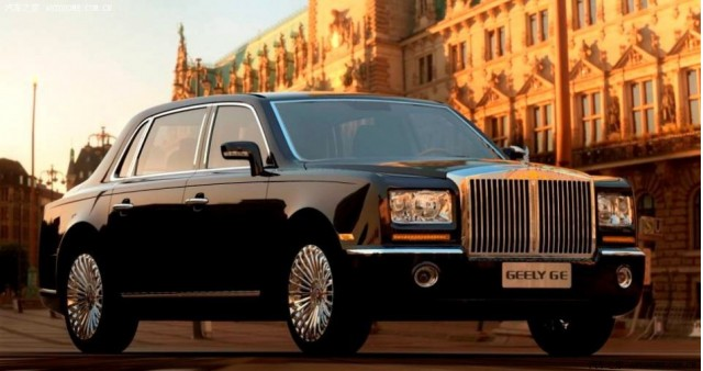 Geely GE or Rolls Royce Phantom?