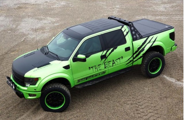 Geiger Cars Ford F-150 SVT Raptor 'The Beast'