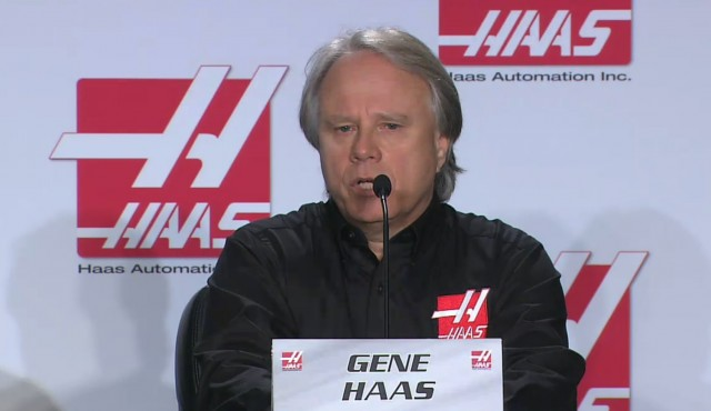 Gene Haas announces acquisition of FIA Formula 1 racing license