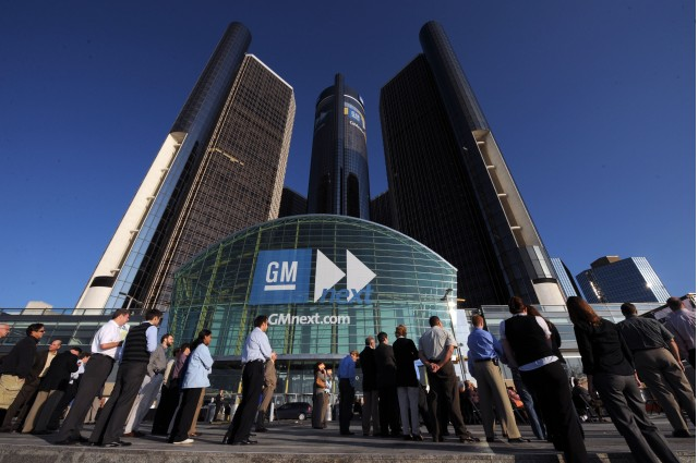 General Motors Renaissance Center, Detroit, Michigan