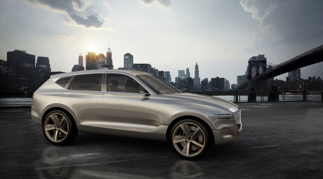 Genesis Shows GV80 Fuel Cell SUV Concept in NY