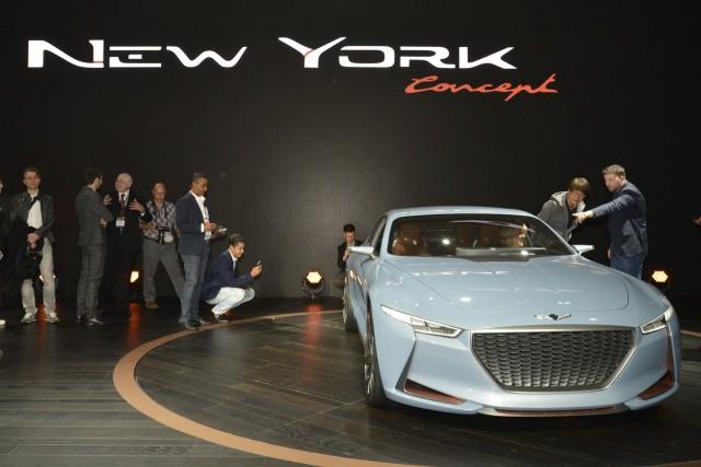 Genesis New York concept, 2016 New York Auto Show