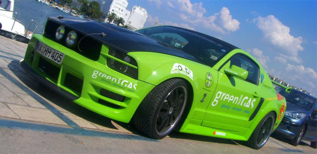 The Green Autogas Mustang GT proves alternative fuels can still be sporting