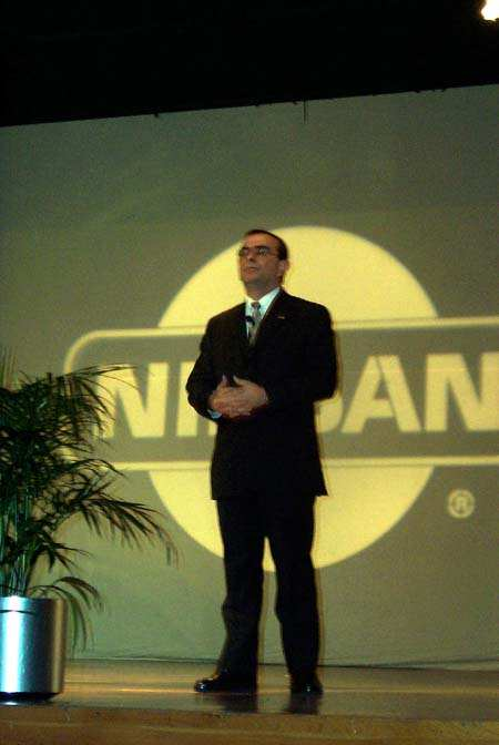 Ghosn Speech, 2000 New York Auto Show