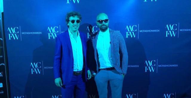 Giorgio Pirolo (left) and Paolo Mancini - Image via Frangivento Facebook page