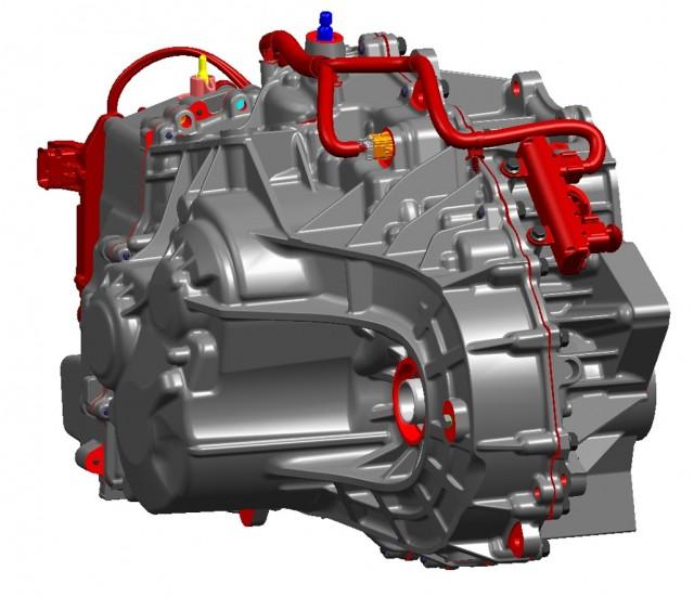 GM and SAIC transmission
