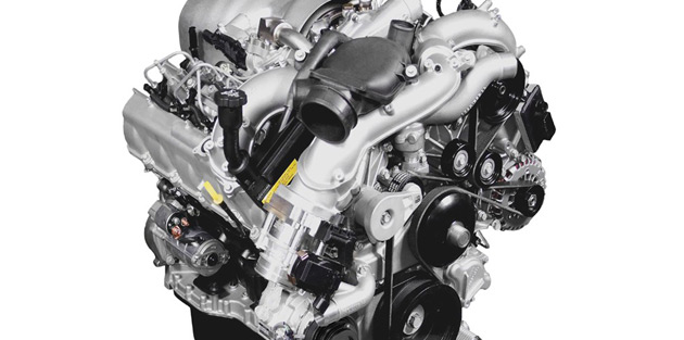 The new Duramax V8 was designed to be lighter and much more efficient than previous versions