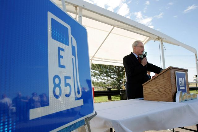 GM E85 presentation
