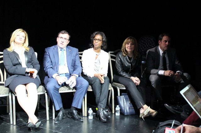 GM executive panel, CES 2016: Pam Fletcher, Alan Batey, Alicia Boler-Davis, Mary Barra, Mark Reuss