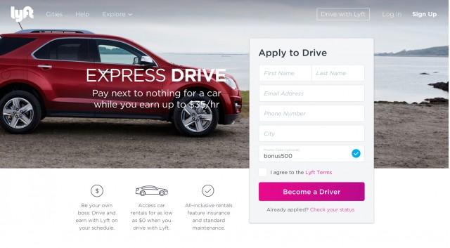 GM & Lyft launch Express Drive program