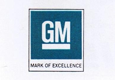 GM Mark of Excellence, circa 1970s