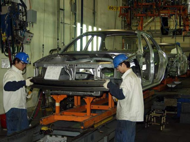 GM China plant