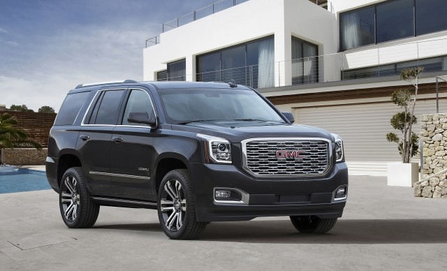 GMC Yukon Denali Gets a New Face, More Gears