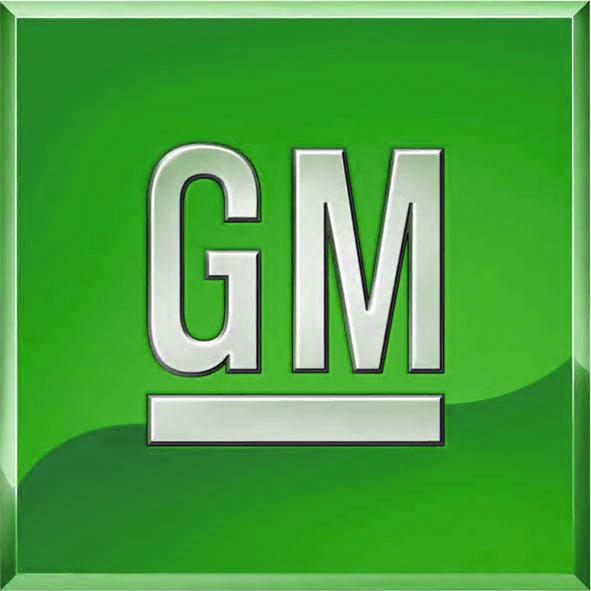 GM's new logo--in green?
