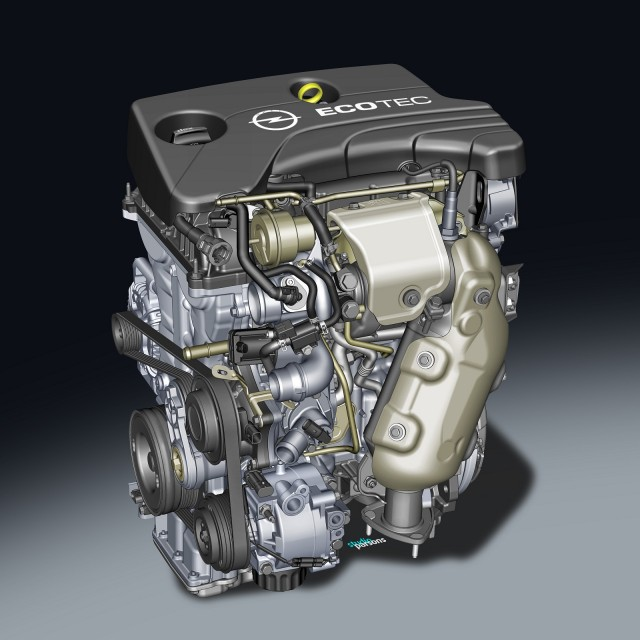 GM's Opel 1.0-liter SIDI turbocharged three-cylinder engine - 2013 Frankfurt Auto Show