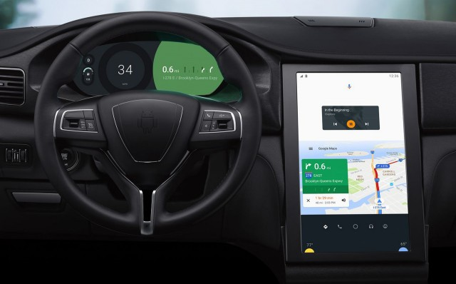 Google previews Android-based infotainment system