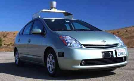 Google's Self-Driving Toyota Prius