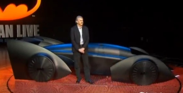 Gordon Murray's Batmobile for Batman Live