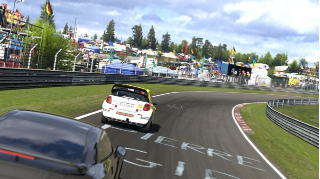Gran Turismo 5 at the Nurburgring