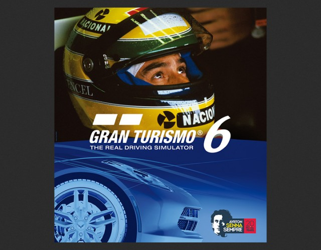 Gran Turismo 6 featuring Ayrton Senna