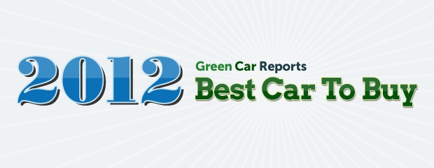 Green Car Reports 2012 Best Car To Buy award