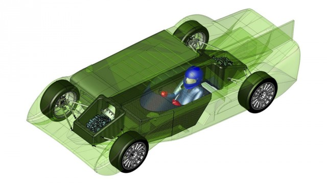 Panoz working on an electric endurance race vehicle, the GT-EV