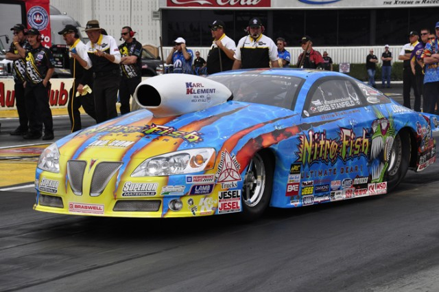 Greg Stanfield at Pomona in November - Anne Proffit photo