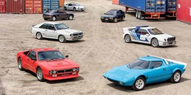 Group B rally car collection heading to Bonhams