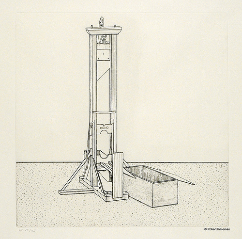 Guillotine, from Amnesty International's Flickr stream