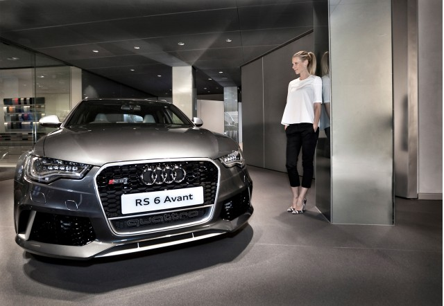 Gwyneth Paltrow and the 2014 Audi RS 6 Avant