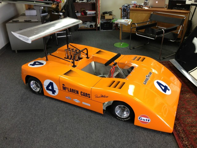 Half-Scale McLaren M8B Can-Am car