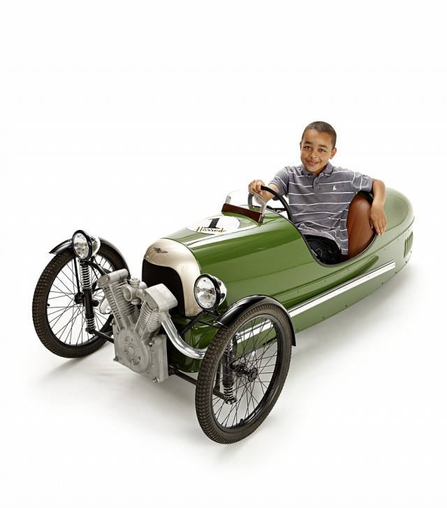 Harrod's Morgan pedal car. Image: Harrod's