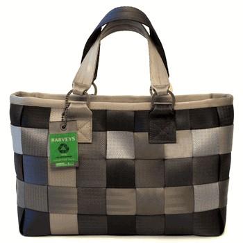 Image harveys carriage satchel treecycle bag using for Mercedes benz seat belt purse