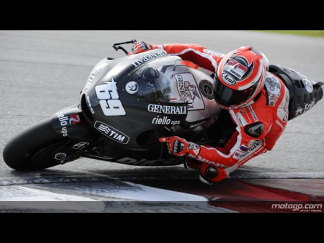 Hayden at Sepang - MotoGP photo