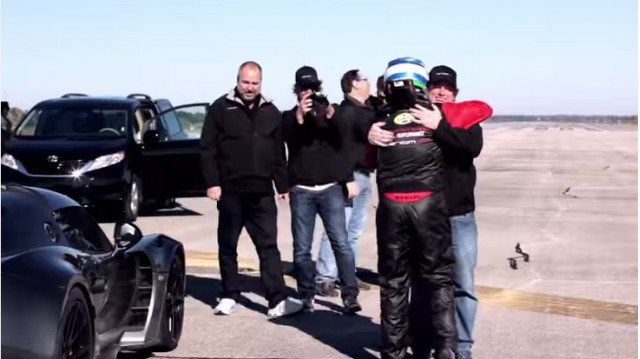 Hennessey Venom GT breaks world speed record