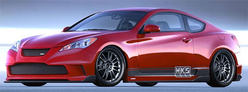 HKS teams with Hyundai for SEMA Genesis Coupe