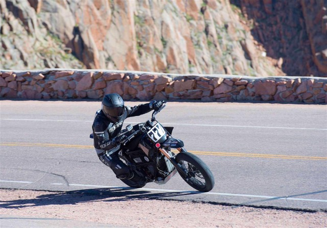 Hollywood Electrics Racing motorcycle, 2014 class winner at Pikes Peak