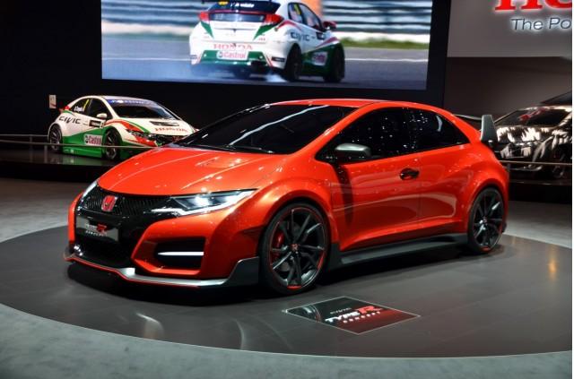 Honda Civic Type R Concept - 2014 Geneva Motor Show live photos